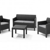 Allibert Chigago Lounge Set grapith